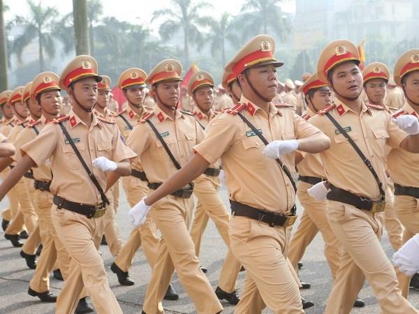 Policia Popular de Vietnam se esfuerza por cumplir ensenanzas del Presidente Ho Chi Minh hinh anh 1