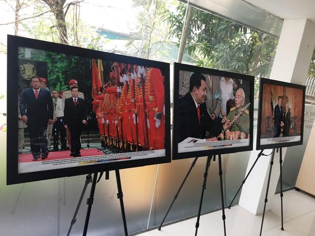 Conmemoran en Hanoi aniversario de la partida fisica de Hugo Chavez hinh anh 2