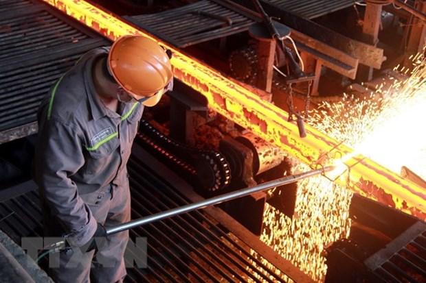 Vietnam dispuesto a defender sus exportaciones de acero hinh anh 1