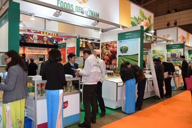 Productos vietnamitas acaparan atencion de visitantes en Foodex 2018 en Japon hinh anh 1