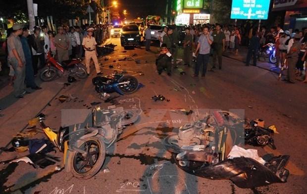 Accidentes de trafico se reducen en carretera nacional 1A en ano nuevo lunar hinh anh 1