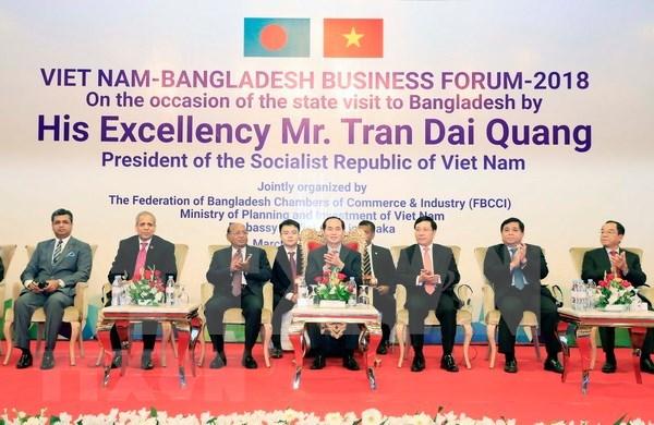 Vietnam aspira a impulsar inversiones a Bangladesh hinh anh 1