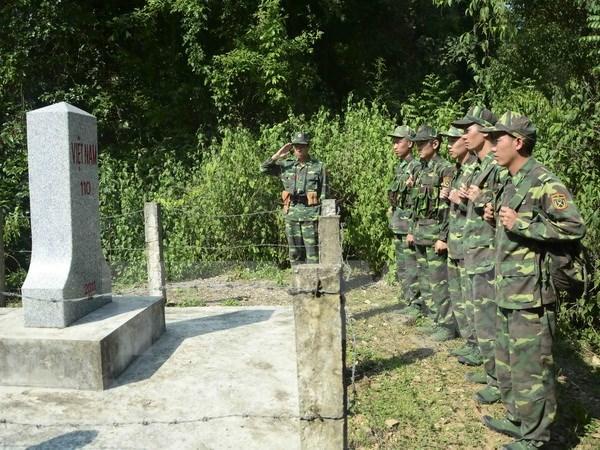 Destaca labores de defensa fronteriza de Vietnam hinh anh 1