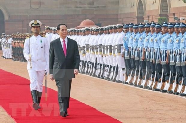 Con visitas del presidente, Vietnam profundiza lazos con India y Bangladesh hinh anh 1