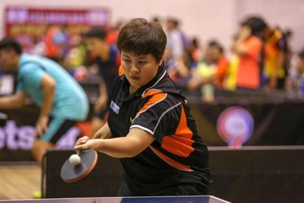 Intercambio de tenis de mesa entre jugadores vietnamitas y japoneses hinh anh 1