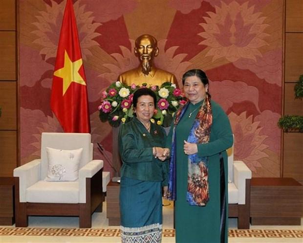 Vietnam y Laos fomentan cooperacion en asuntos etnicos hinh anh 1