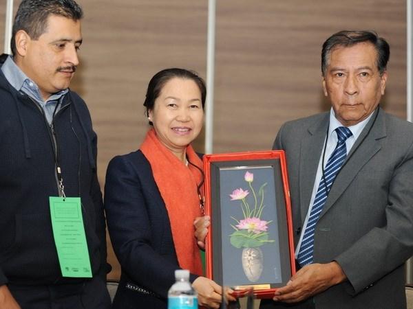 Vietnam participa en XVIII Congreso de FISE en Mexico hinh anh 1