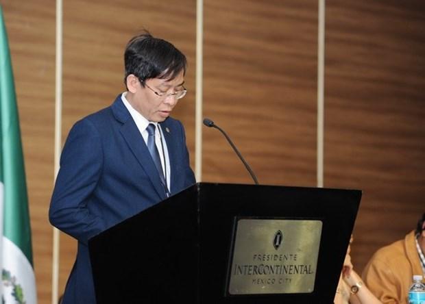 Vietnam participa en XVIII Congreso de FISE en Mexico hinh anh 2