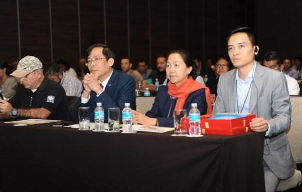 Vietnam participa en XVIII Congreso de FISE en Mexico hinh anh 3