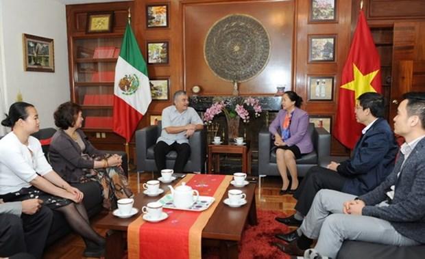 Vietnam participa en XVIII Congreso de FISE en Mexico hinh anh 4