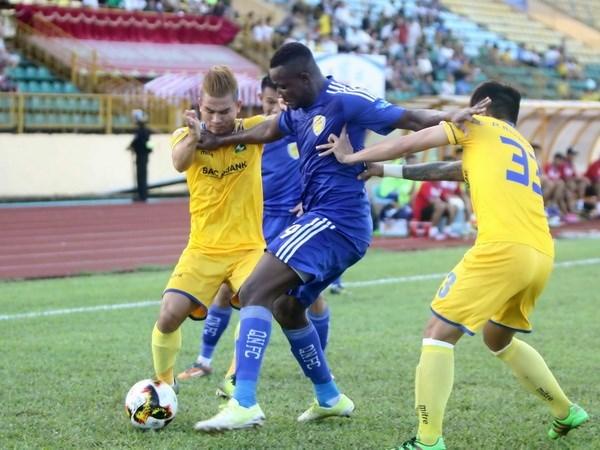 Club vietnamita empata con rival indonesio en campeonato asiatico de futbol hinh anh 1