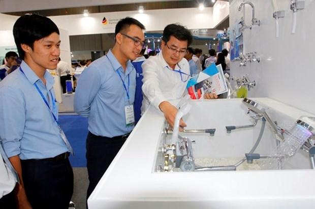 Japon ofrece asistencia a urbe vietnamita en tratamiento de agua limpia hinh anh 1