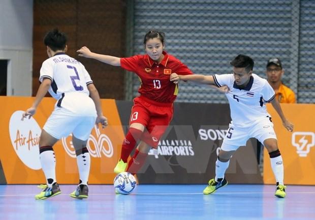Vietnam se esforzara para elevar su actuacion en Campeonato Asiatico de Futsal Femenino 2018 hinh anh 1