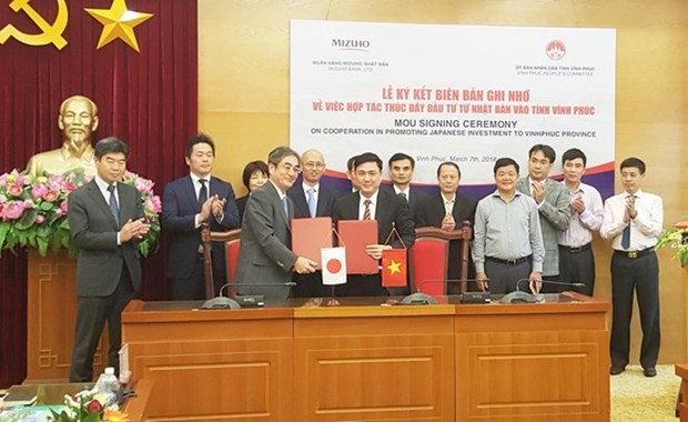 Provincia vietnamita y banco japones firman memorando sobre impulso de inversiones hinh anh 1