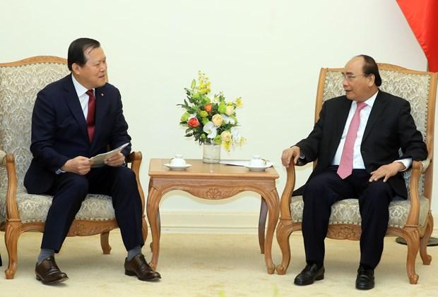 Vietnam pide apoyo de Lotte para penetrar en mercado de Sudcorea hinh anh 1