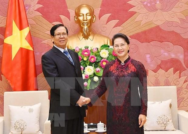 Myanmar desea adquirir experiencias de Vietnam en desarrollo nacional hinh anh 1