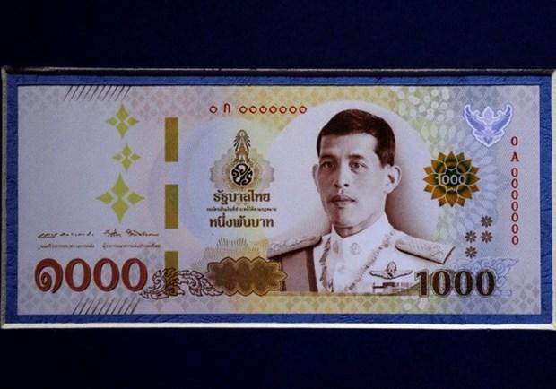 Tailandia circulara nuevos billetes con el retrato del rey Rama X hinh anh 1