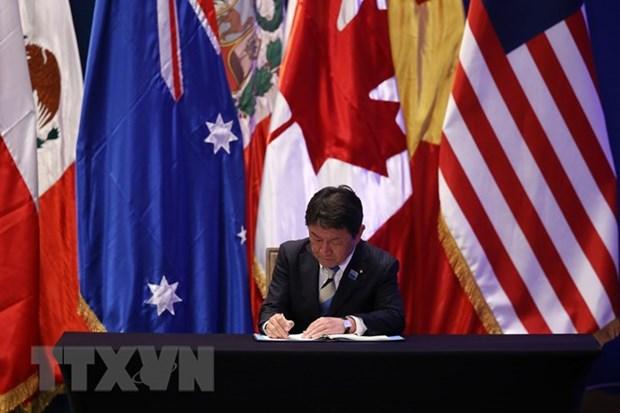 Cualquier pais es bienvenido al CPTPP, afirma ministro de Japon hinh anh 1