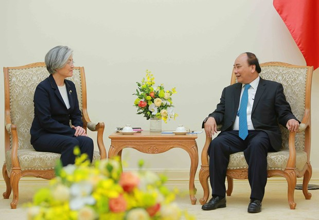 Premier vietnamita insta a fortalecer cooperacion economica con Sudcorea hinh anh 1
