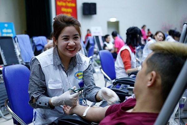 Inauguran en Hanoi movimiento anual de donacion voluntaria de sangre hinh anh 1