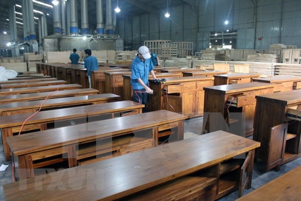 Vietnam preve cumplir ingresos por exportacion maderera en 2018 hinh anh 1