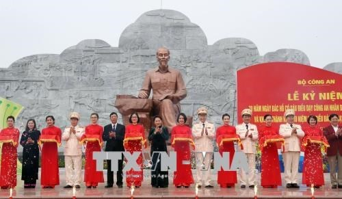 Instan a fuerza policial de Vietnam a cumplir ensenanzas del Presidente Ho Chi Minh hinh anh 1