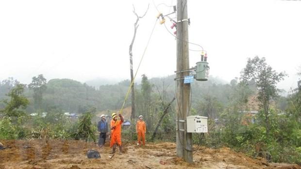 Provincia vietnamita de Phu Yen amplia red electrica con asistencia financiera de Japon hinh anh 1