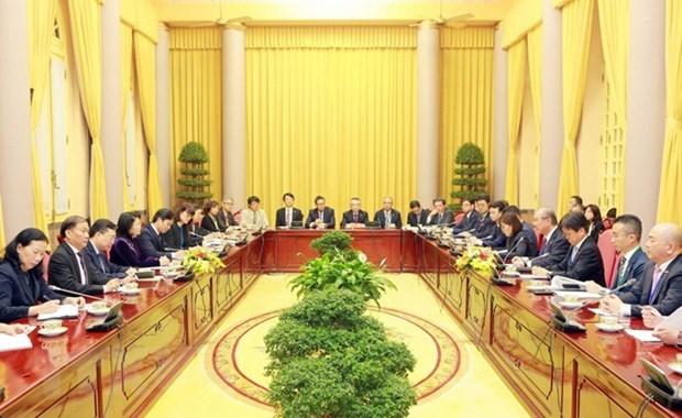 Vietnam estimula inversion japonesa en manufactura y agricultura moderna hinh anh 1