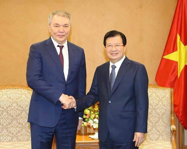 Vietnam y Rusia por fortalecer cooperacion economica hinh anh 1