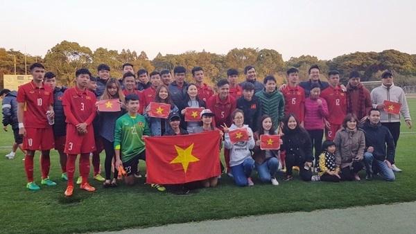 Futbol sub 16 de Vietnam avanza a la final de campeonato Japon-ASEAN hinh anh 1