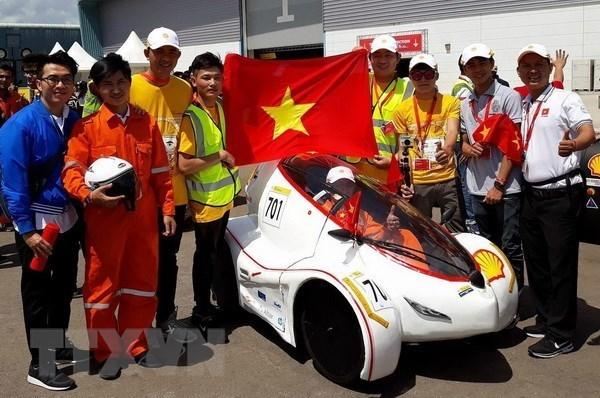 Universitarios vietnamitas ganaron concurso asiatico de vehiculos electricos hinh anh 1