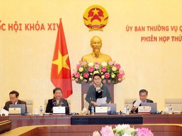 Comite Permanente del Parlamento vietnamita efectua vigesimosegunda reunion hinh anh 1