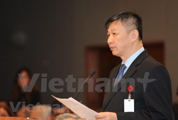 Vietnam participa en seminario de partidos de izquierda en Mexico hinh anh 2