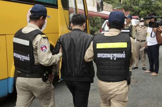 Camboya arresta a sospechosos chinos por fraude en las telecomunicaciones hinh anh 1