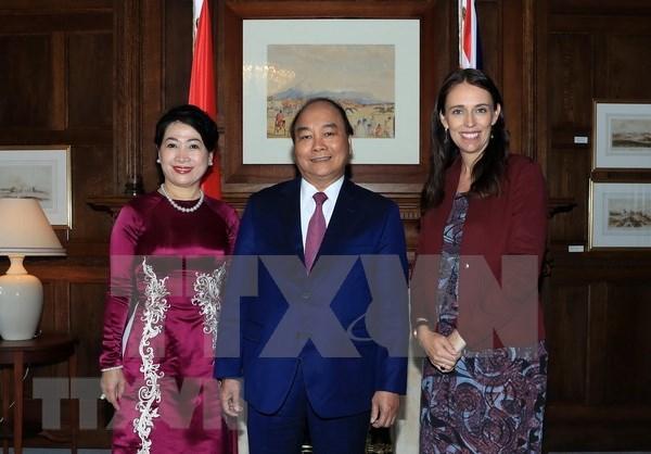 Vietnam y Nueva Zelanda se dirigen hacia asociacion estrategica hinh anh 1