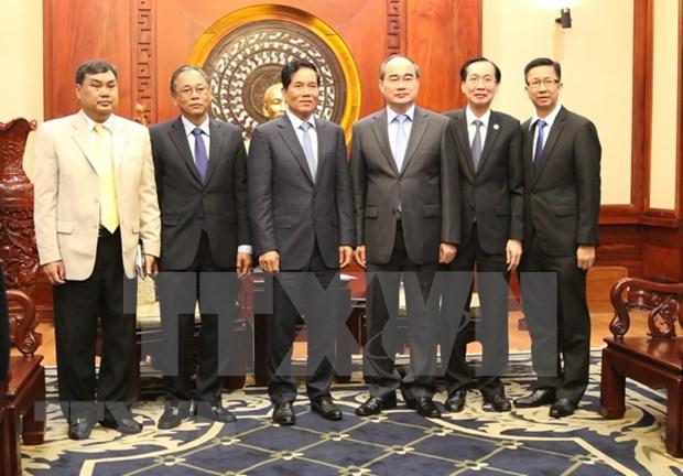 Ciudad Ho Chi Minh y Phnom Penh consolidan buenas relaciones de vecindad hinh anh 1