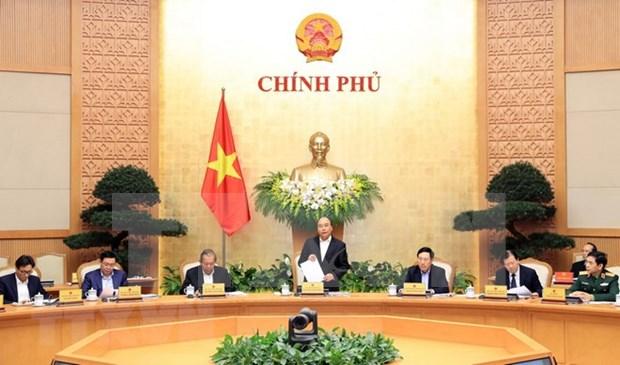 Gobierno de Vietnam emite resolucion de reunion ordinaria de febrero hinh anh 1