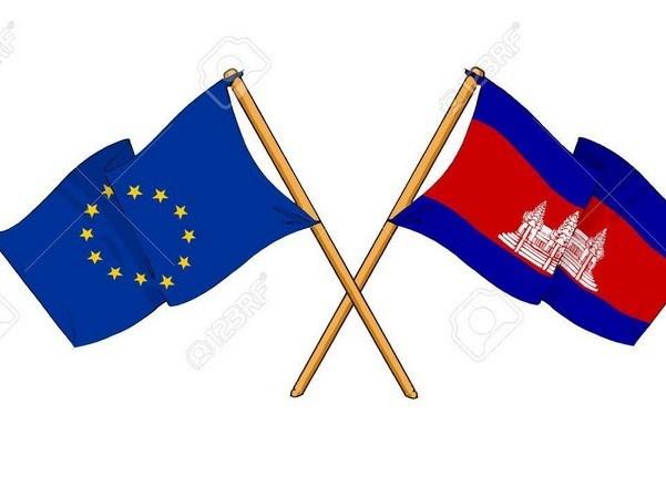 UE reafirma su apoyo a consolidacion de cooperacion con Camboya hinh anh 1