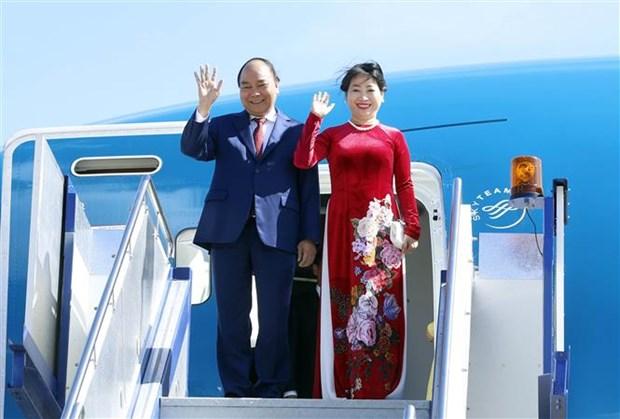 Premier de Vietnam llega a Canberra para iniciar visita oficial a Australia hinh anh 1
