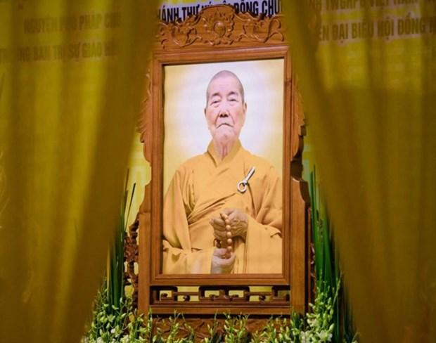 Muere a los 90 anos diputado patriarca de Sangha budista de Vietnam hinh anh 1