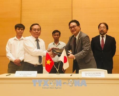 Japon financia proyectos educativos y medicos de Vietnam hinh anh 1