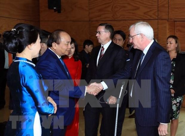 Premier vietnamita concluye visita a Nueva Zelanda hinh anh 1
