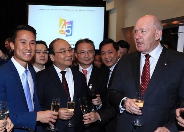 Vietnam y Australia reafirman determinacion de agilizar relaciones binacionales hinh anh 1