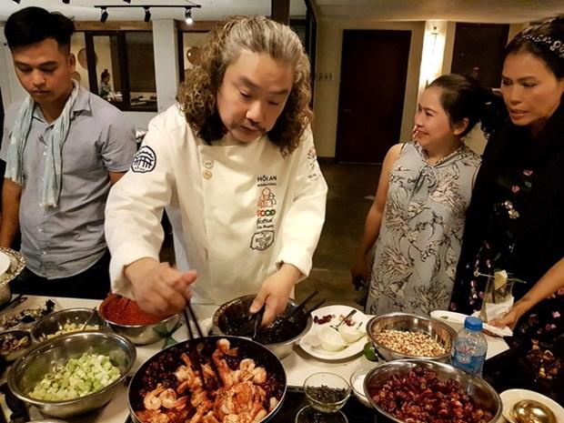 Chefs de ocho paises compiten en Festival de Gastronomia de Hoi An hinh anh 2