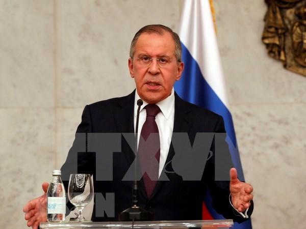 Canciller ruso realizara visita oficial a Vietnam en marzo hinh anh 1
