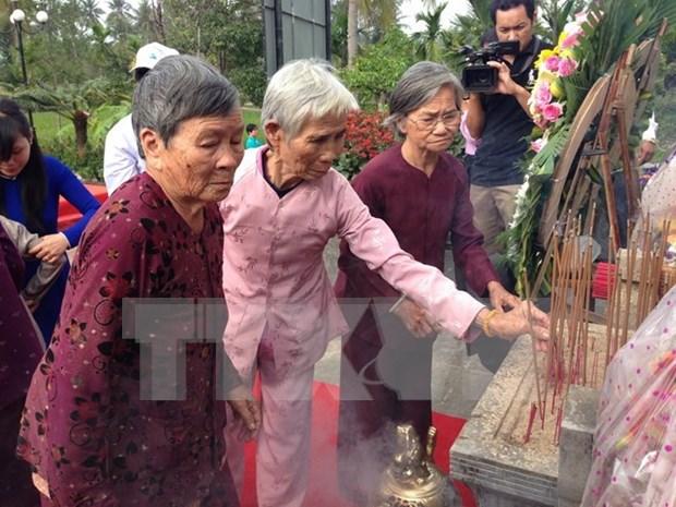 Medios internacionales cubren actividades de conmemoracion a masacre Son My hinh anh 1