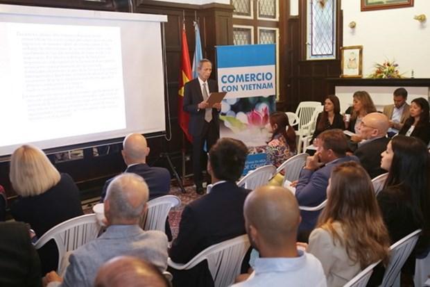 En Argentina coloquio sobre oportunidades de negocio con Vietnam hinh anh 1