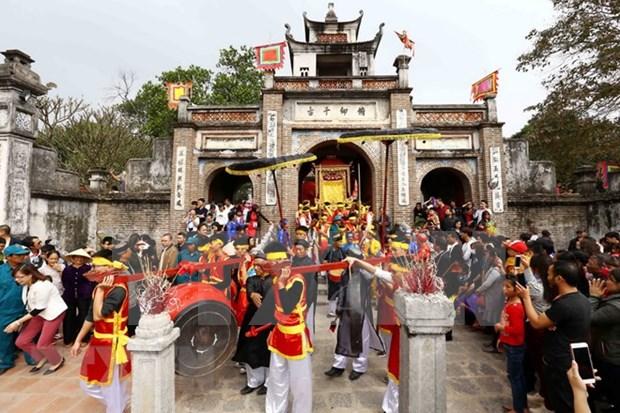 Hanoi mejora la preservacion del sitio reliquia de Co Loa hinh anh 1