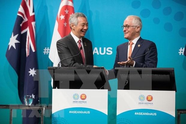 Efectuan conferencia empresarial especial ASEAN-Australia hinh anh 1