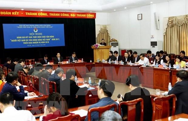 Vietnam impulsa consumo de productos nacionales hinh anh 1